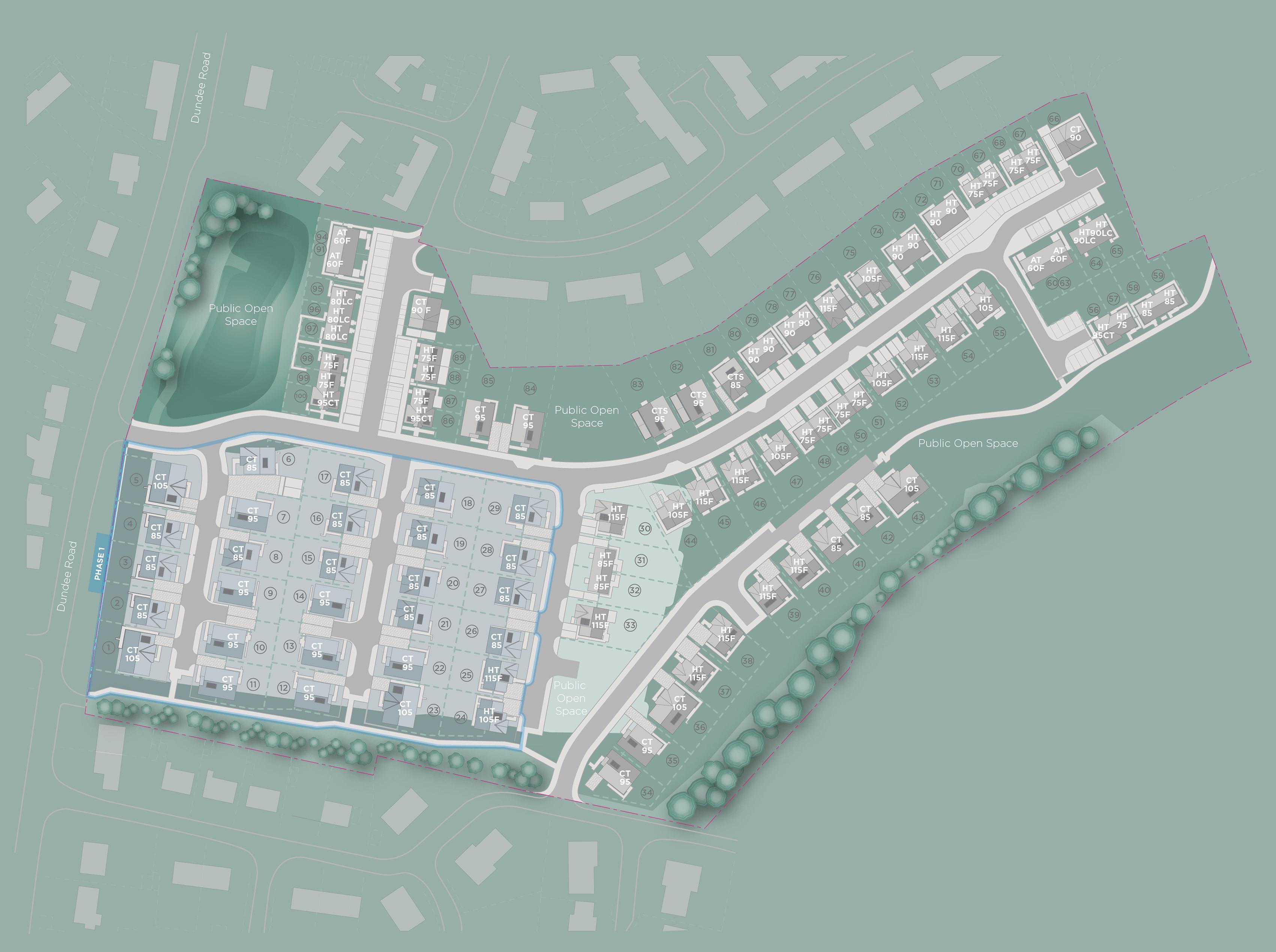 Siteplan, Glenview