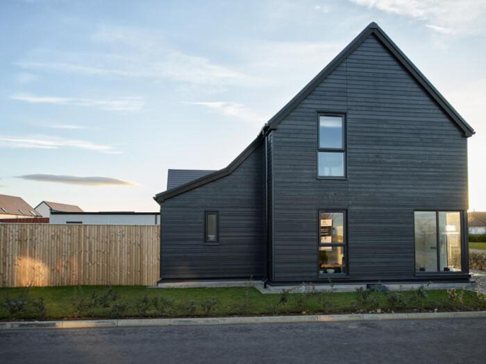 Corner House (timber clad)